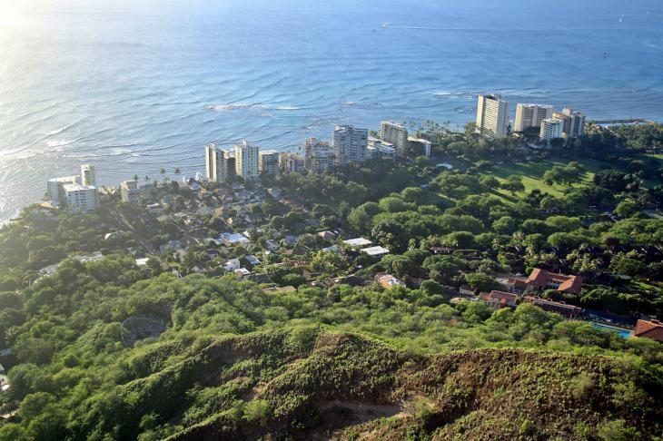 Waikiki Diamond Head Shorelines
