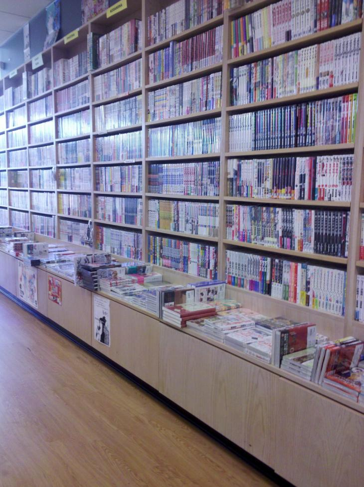 Manga in Japantown