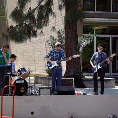 Live-Musik on Campus