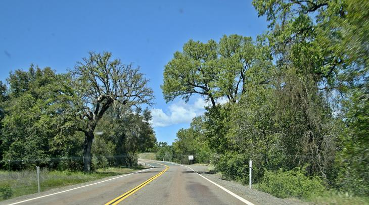 The road to Mendocino / Die Strasse nach Mendocino