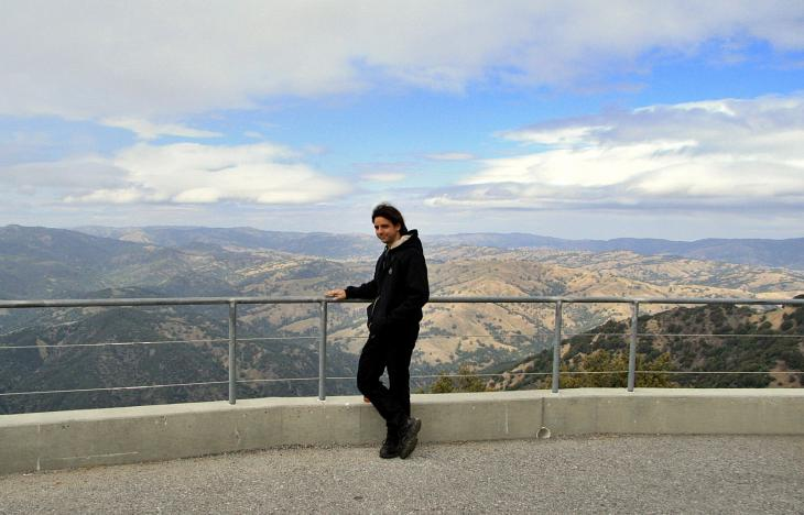 Me at Lick Observatory / Ich beim Lick Observatory
