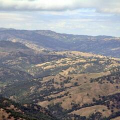 View from the Lick Observatory / Ausblick vom Lick Observatory