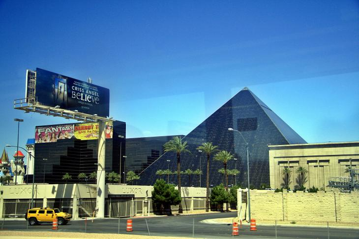 The Luxor Hotel, Las Vegas