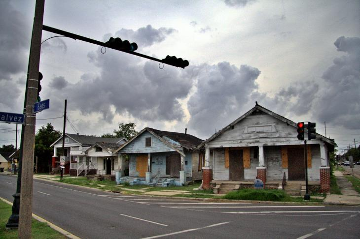 Traces of hurricane Katrina / Die Spuren von Hurricane Katrina
