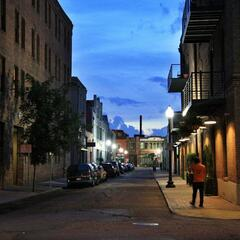 French Quarter at night / French Quarter bei Nacht