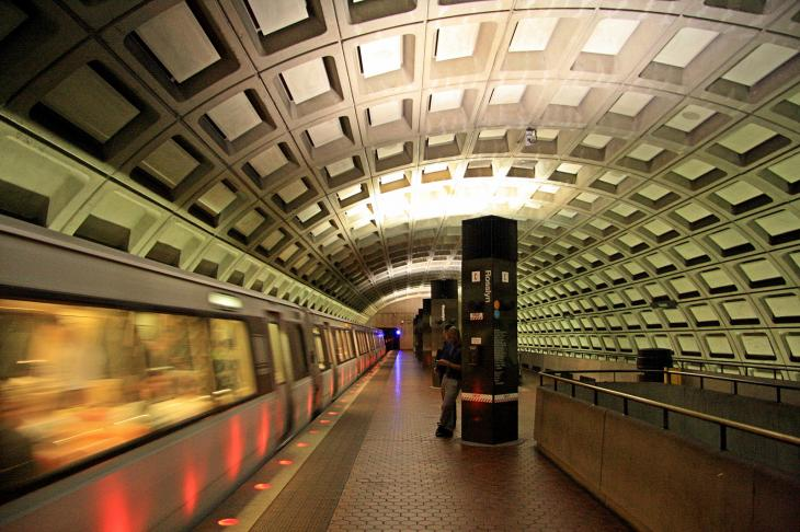 Subway in DC / Die U-Bahn in DC