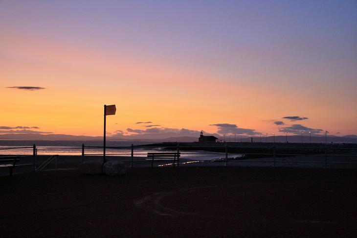 Sunset in Morecambe