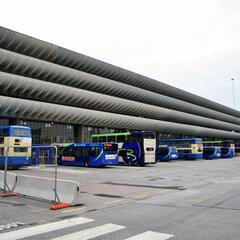 Bus Station in Preston