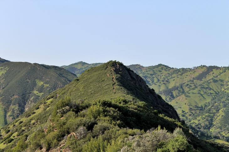 Blue Ridge Trail, Lake Berryessa
