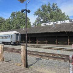 Railroad Station in Old Sacramento