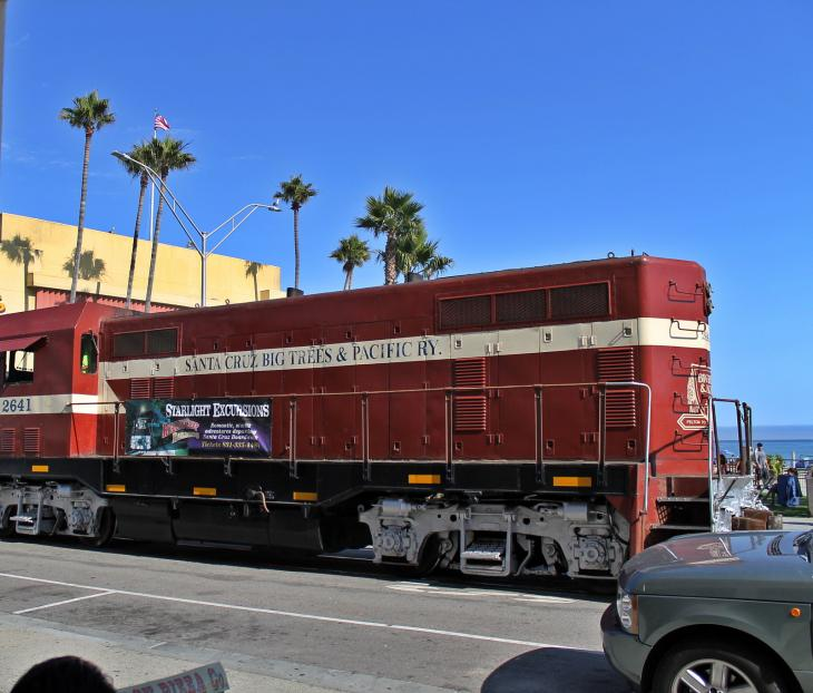 Santa Cruz, Big Trees and Pacific Railway
