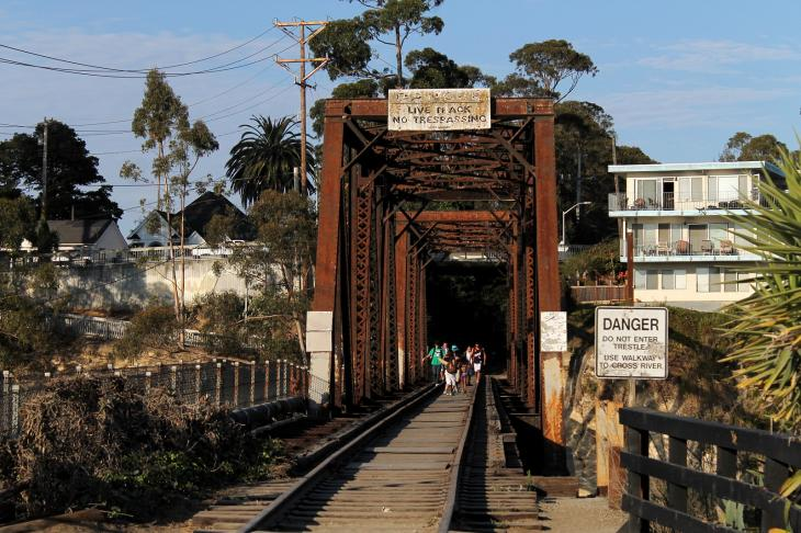 Santa Cruz, Big Trees and Pacific Railway Bridge