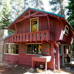Our cabin at Lake Tahoe