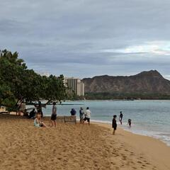 Waikiki (Diamond Head in the background)