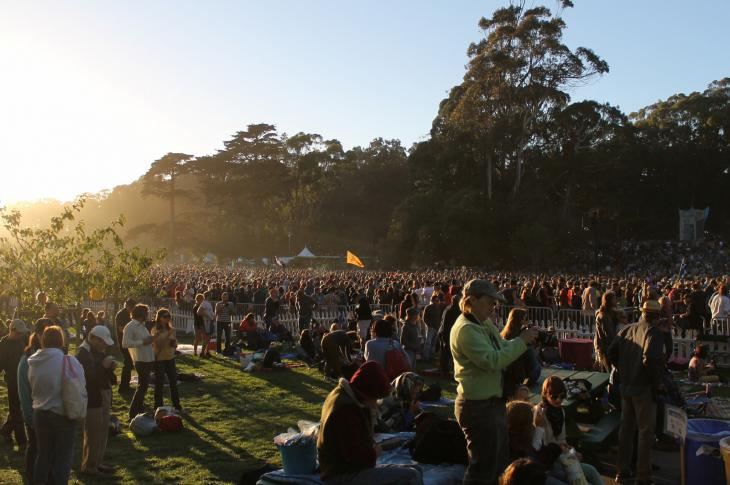 Hardly Strictly Bluegrass Festival, Golden Gate Park