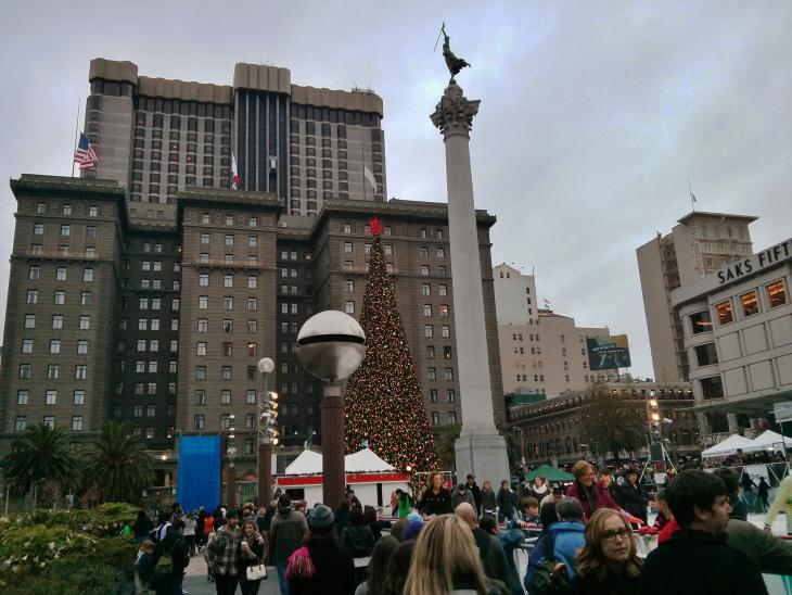 Christmas Tree at Union Square