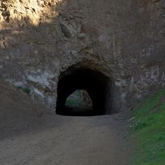 "Bronson Caves (Used as ""Batcave"" for the 60s Batman series)"
