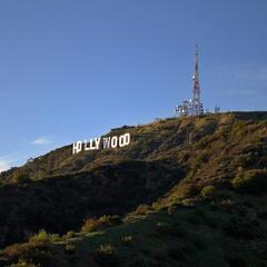 Hollywood Sign at Mount Lee