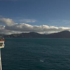 Arriving at the South Island