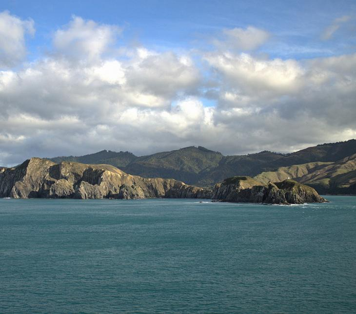 West Head, Tory Channel (Marlborough Sounds)