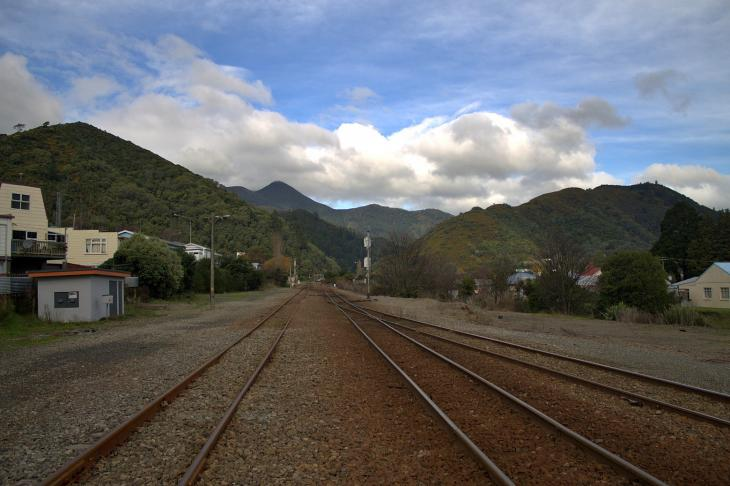 Picton Train Tracks to Christchurch