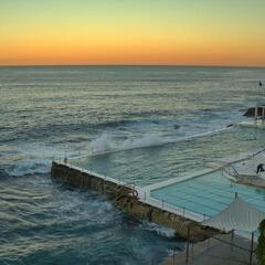 Bondi Icebergs Baths with seawater pool