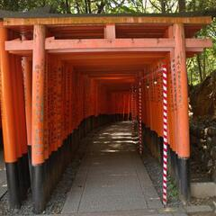 Fushimi Inari-taisha (famous for having 1000 torii gates)