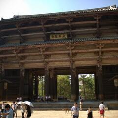 Todaiji Temple Gate