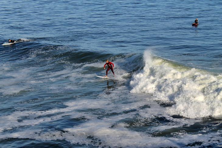 Steamer Lane Surfer