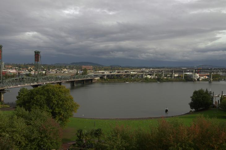 Cloudy Day in Portland
