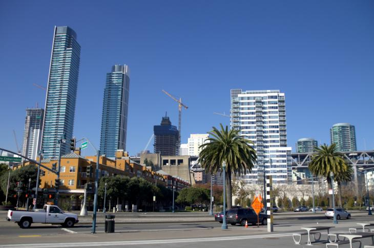 The Embarcadero & Brannan Street