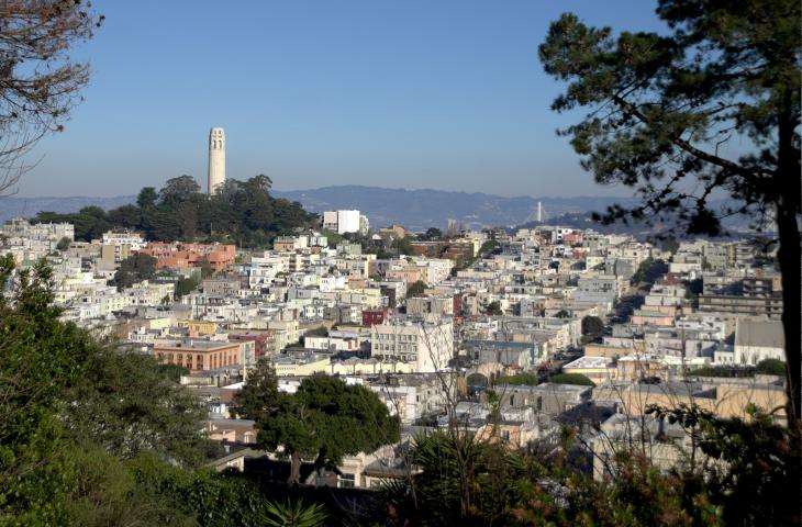 North Beach, Telegraph Hill, Coit Tower