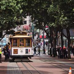 Cable Car at Powell Street