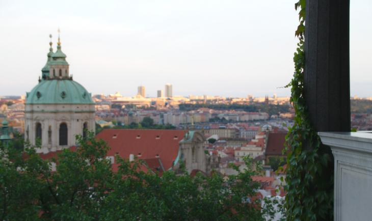View at Prague Castle