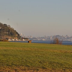 Hauke Park with San Francisco in the Background