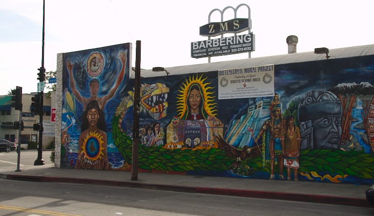 Mural Art in Highland Park