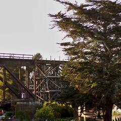 Railroad Bridge over Soquel Creek