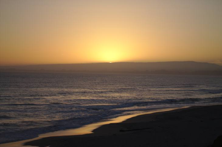 Sunset at Manresa State Beach