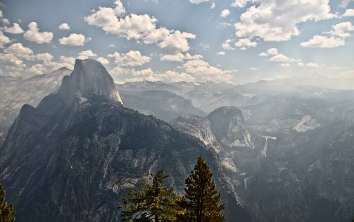 Half Dome (View from Glacier Point)