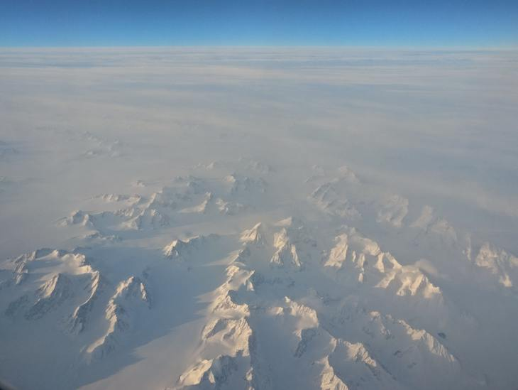 Greenland (from plane)