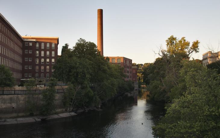 Concord River and Massachusetts Mills