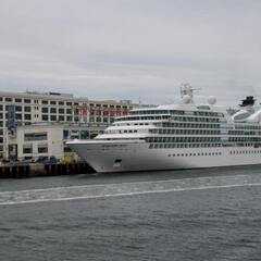 Seabourn Quest at Cruise Terminal