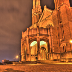 Basilica of the Sacred Heart, Brussels (HDR)