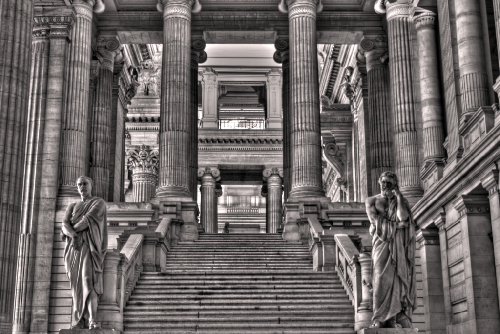 Palace of Justice, Brussels (HDR)