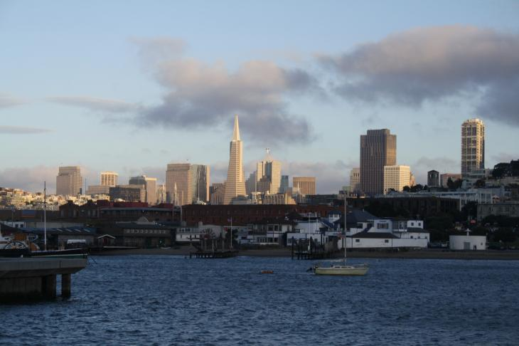 View at Fisherman's Wharf