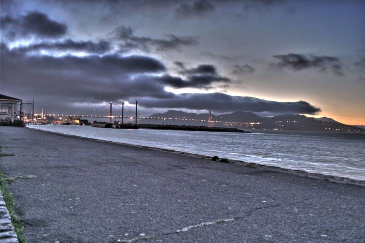 Golden Gate Bride at Dawn (HDR)