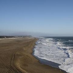 Ocean Beach, West of Golden Gate Park