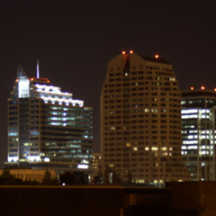 Sacramento Downtown at night
