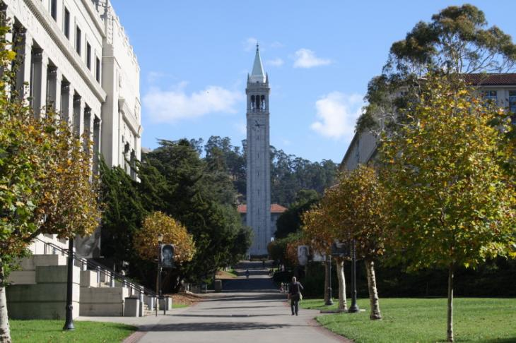 Sather Tower (also called 'Campanile'), UC Berkeley