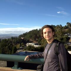 Me at the Lawrence Berkeley National Laboratory, UC Berkeley